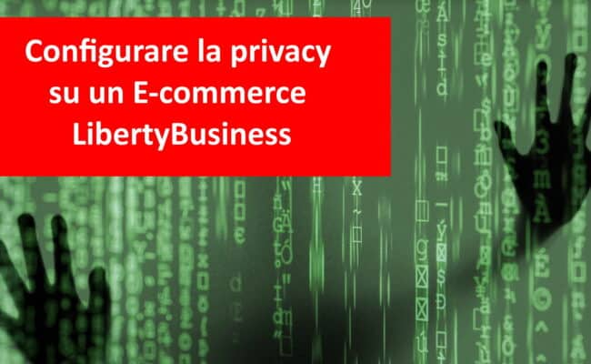 Configurare Privacy Su Ecommerce